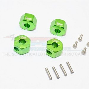 Alloy Hex Adapter 12mm x 9mm for HPI Mini Savage XS Flux