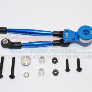 GPM LB025TM Aluminum Steering Tie Rod +25T Servo Saver For Tamiya CW01/Lunch Box